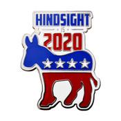 Hindsight Is 2020 Lapel Pin