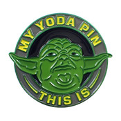 My Yoda Pin This Is Lapel Pin Soft Enamel C11 Anodized Aluminum