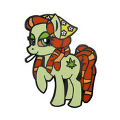 My lil Pony 420 Lapel Pin Hard Enamel Black Nickel