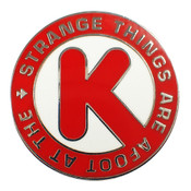 Strange Things Are Afoot Lapel Pin Hard Enamel Silver