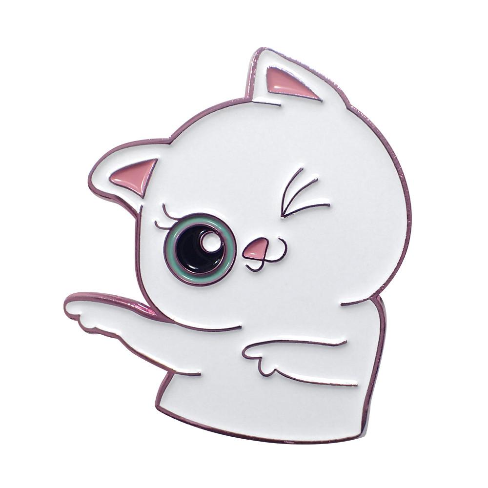 You da Cat Lapel Pin