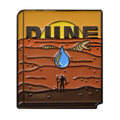 Classic Novels - Dune Lapel Pin Soft Enamel Black Nickel