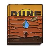 Classic Novels - Dune Lapel Pin Soft Enamel Black Nickel