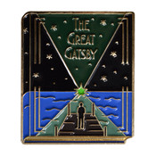 Classic Novels - The Great Gatsby Lapel Pin Soft Enamel Gold