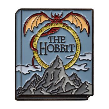 Classic Novels - The Hobbit Lapel Pin Soft Enamel Black Nickel