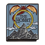 Classic Novels - The Hobbit Lapel Pin Soft Enamel Black Nickel