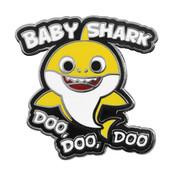Baby Shark Doo Doo Lapel Pin Hard Enamel Silver