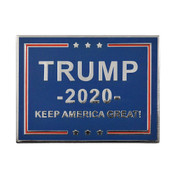 Keep America Great Lapel Pin Hard Enamel Silver