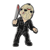 Jason Friday the 13th Lapel Pin Hard Enamel Black Nickel