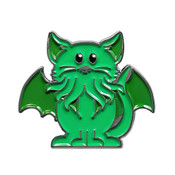 Cathulu (Cat & Cthulu) soft enamel pin