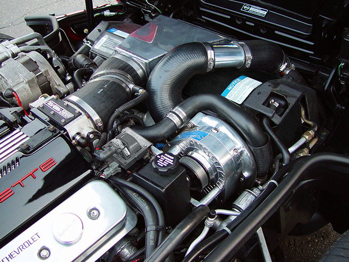 1992-96 Corvette C4 (LT1, LT4) Supercharger Kit - Intercooled