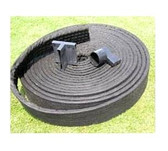 J Drain SWD Strip Drain - Foundation Turf Drainage Collector - (5 Roll Carton) Free Shipping - 6' x 165' Roll Size