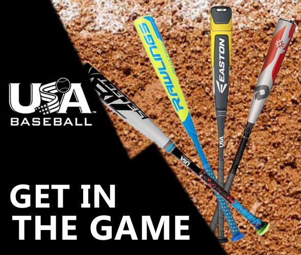 USA Baseball Bats in Stock at the Guaranteed Best Price