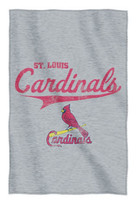 The Northwest MLB St Louis Cardinals Stadium Throw Blanket Spread Sweatshirt