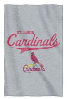 The Northwest MLB St Louis Cardinals Stadium Throw Blanket Spread Sweatshirt