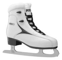 Roces Women's RFG Glamour Fur Figure Ice Skate Superior Italian 450540 00012
