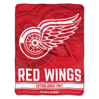 The Northwest NHL Detroit Red Wings Breakaway Micro Raschel Throw Blanket
