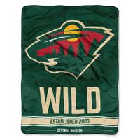 The Northwest NHL Minnesota Wild Breakaway Micro Raschel Throw Blanket