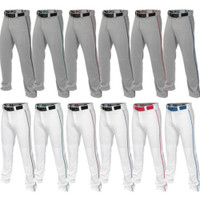 Easton Men's Full Baseball Pants Mako 2 Piped Contrast Color Piping A167101