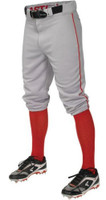 Easton Boy's Youth Pro Piped Baseball Pants Knicker Style Color Choice A167106