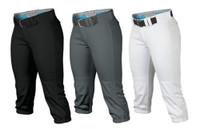 Easton Women's Prowress Pants Fastpitch Softball Knicker Length A167120