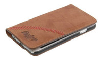 Rawlings iPhone 7 Case Cellphone Baseball Stitch Tan Calfskin Leather MW419-204