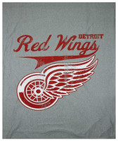 "The Northwest NHL Detroit Red Wings Sweatshirt Throw 50""x60"" Blanket"