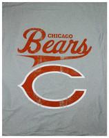 "The Northwest NFL Chicago Bears Sweatshirt Throw 50""x60"" Blanket"