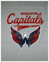 "The Northwest NHL Washington Capitals Sweatshirt Throw 50""x60"" Blanket"