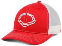 Evoshield Red USA Snapback Trucker Baseball Cap Hat, Red WTV1034320