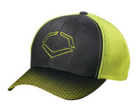 Evoshield Onslaught Flex Fit Mesh Back Baseball Cap Hat Neon Logo WTV8708BN