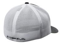Evoshield Circle Flex Fit Mesh Back Baseball Cap Hat Logo Patch WTV8700BW