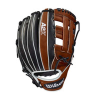 "Wilson Baseball Infield Glove A2K 12"" 1721 Copper Mitt RHT WTA2KRB181721"