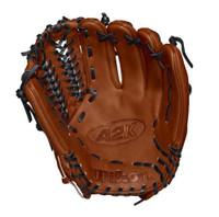 "Wilson Baseball Pitchers Glove A2K 11.75"" D33 Mitt RHT WTA2KRB18D33"