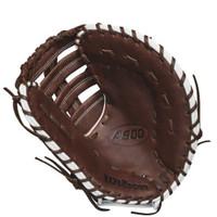 "Wilson Baseball First Base Mitt A900 12"" Glove RHT WTA09RB18BM12"