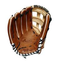 "Wilson Baseball Outfield Glove A2K 12.75"" 1799 Copper Glove LHT WTA2KLB181799"