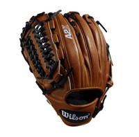 "Wilson Baseball Pitchers Glove A2K 11.75"" D33 Copper Mitt LHT WTA2KLB18D33"
