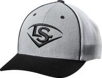 Louisville Slugger L/S Shield Flex Fit Mesh Back Baseball Cap Hat Logo WTL8702GW