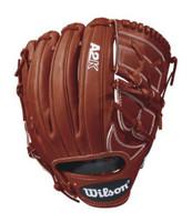 "Wilson Pitcher Baseball Mitt A2K Glove 12"" 2-Piece Web Infield RHT WTA2KRB18B2"