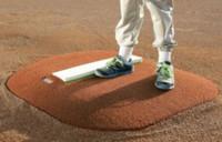 "Portolite Economy 4"" Youth Portable Baseball Pitching Mound  IOP-4434-Clay"
