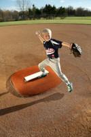 "Portolite 4"" High Portable Baseball Pitching Mound 46""x48""x4""H TPM-4468-Clay"