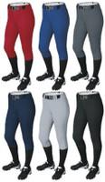 Demarini Girl's Fastpitch Softball Pants Belt Loop Knicker Youth WTD4040