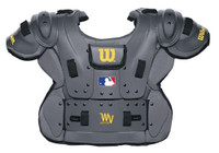 Wilson Adult Pro Platinum Umpire Chest Protector Baseball Protection WTA3215 CHA