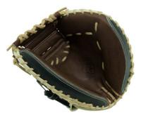 "Marucci Baseball Catcher's Glove Mitt 32.5"" Solid Web RHT Honor the Game Series"