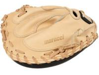 "Marucci Baseball Catcher's Glove Mitt 35"" Solid 2-Piece Web RHT Founders Series"