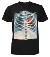 Red Hot Chili Peppers X-ray Band Tour T-Shirt Rock n Roll Music RHCP 14531207
