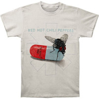 Red Hot Chili Peppers Fly Prints Band T-Shirt Rock n Roll Tee RHCP 14531141