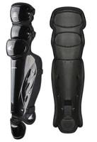 "Champro Pro-Plus Umpire Leg Guard 15.5"" Baseball Softball Protection Black CG355"