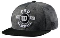 Wilson 2018 Pro Spring Training Hat Baseball Cap Hat Snapback WTA7105BGOSFM