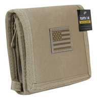 Rapid Dominance Tactical Tri-Fold Wallet USA Flag Military Color Choice T105